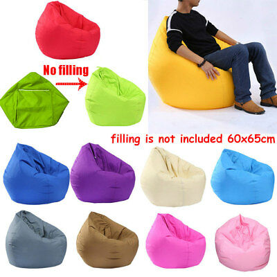 Bean Bag Chair Indoor/Outdoor Tall Gamer Beanbag Seat - Kids and Adult Sizes