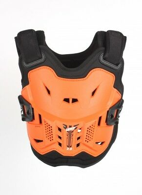 New Youth Leatt 2.5 Mini Body Armour Junior Kids Orange Black Chest Protector MX
