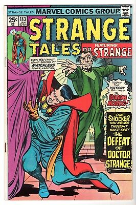 Strange Tales #183 Featuring Dr. Strange, Fine Condition
