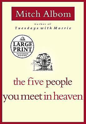 The Five People You Meet in Heaven  (ExLib, NoDust) by Mitch Albom