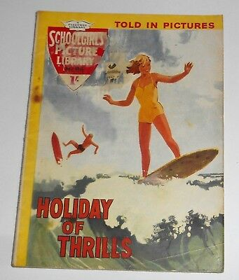 #94 Schoolgirl's Picture Library Comics ~ HOLIDAY OF THRILLS ~ 1960