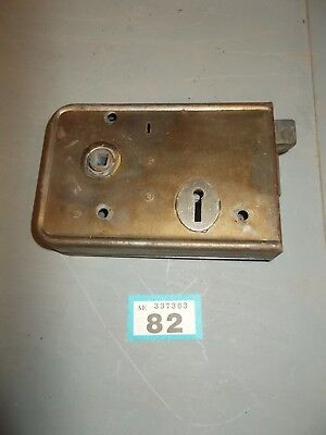 Vintage Antique Rim Lock Door Latch Locks 82