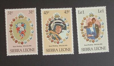 Sierra Leone 1981 Royal Wedding Bouquet flower MNH UM unmounted mint vcx
