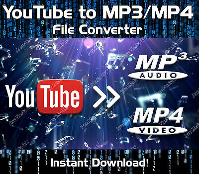 Youtube To Mp3/mp4 Converter Download - Windows Music Video Converter Downloader