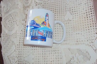 Cape May Lewes Ferry  Souvenir Coffee Mug