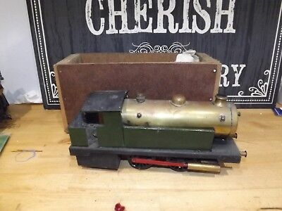 BOWMAN 265 O GAUGE LIVE STEAM LOCOMOTIVE LOCO ENGINE TRAIN boxed