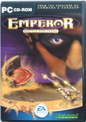 Gioco Pc Emperor battle for Dune - EA games 2001 Usato
