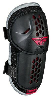 Fly Racing Barricade Mens MX Offroad Elbow Guards Black/Red
