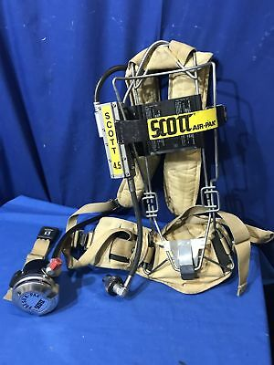 Scott 4.5 Wire Frame SCBA Yellow FREE SHIPPING