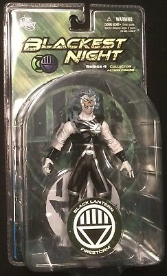 "Black Lantern FIRESTORM 6"" action figure DC DIRECT BLACKEST NIGHT SERIES 4"
