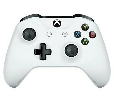 Official Xbox One Wireless Controller 3.5mm - White - USED NO BOX