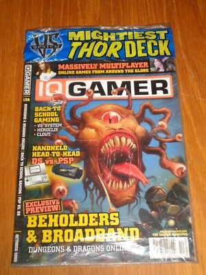 Inquest Gamer #126 October 2005 Dungeons & Dragons Psp Vs Ds Us Magazine =