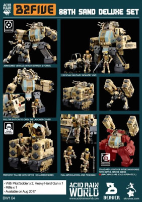 ORITOY Acid Rain Wave 1 Stronghold ST1s AND Speeder MK1s Figure Sand Deluxe SET