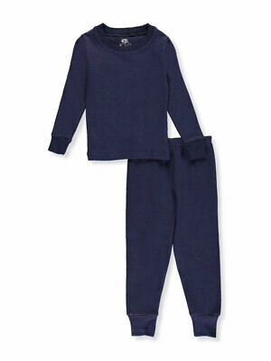 Ice20 Little Boys' Toddler 2-Piece Thermal Long Underwear Set (Sizes 2T - 4T)