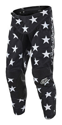 Troy Lee Designs GP Star Mens MX Offroad Pants Black/White