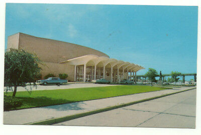 Shreveport LA Civic Theatre and Convention Hall Postcard - Louisiana