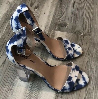 7ed8c48c9277 CALL IT SPRING Astausien Caged Strappy Heels Size 8 -  40.00