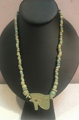 1070-712BC Egyptian Necklace Eye of Horus 8.5""
