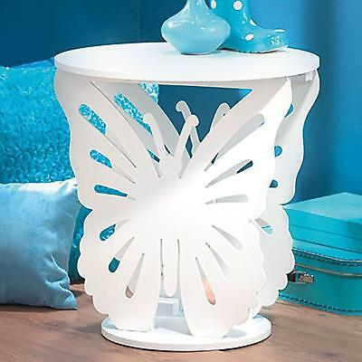 Small Telephone Table Round Side Wooden Coffee End Table Lamp Stand Furniture