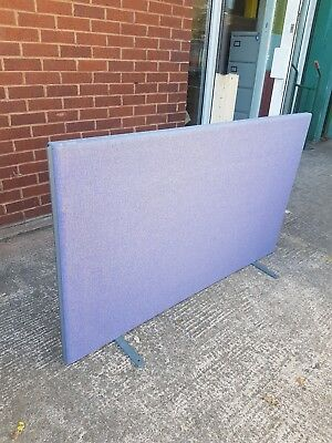 Blue / Purple  fabric office room dividers / Blue fabric office room partitions