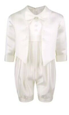 Baby Boys Christening Romper Outfit / Christening Romper 0-24 Months