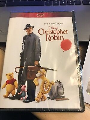 "Christopher Robin ~ DVD ~ 2018 + limited-edition lithograph ~ Size 6.75"" x 5"""