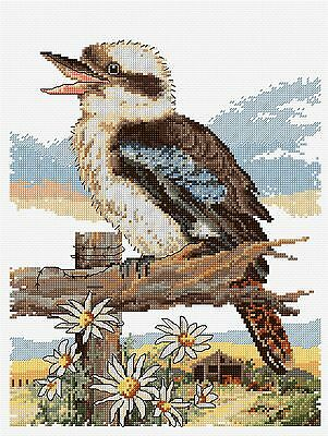 Kookaburra - Bushmans Alarm - Counted Cross Stitch Chart from Country Threads