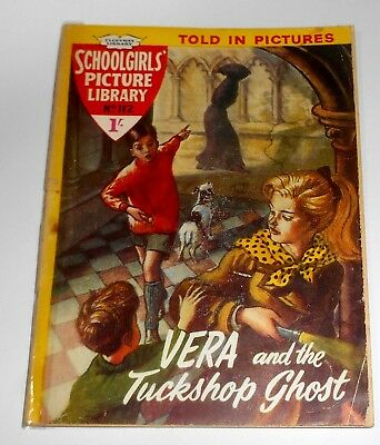 #112 Schoolgirl's Picture Library Comics ~ VERA AND THE TUCKSHOP GHOST ~ 1961