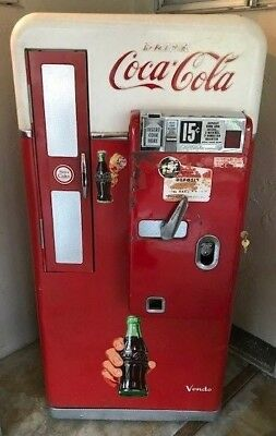 coke coca cola soda machine vendo 56 also 110 44 81 Pepsi 7up 1950 Will Ship