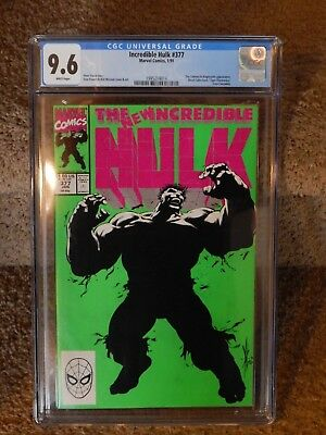 The Incredible Hulk #377 CGC 9.6 1st App Professor Hulk (Smart Hulk) Avengers 4