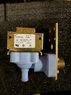 Manitowoc REPLACEMENT Water Inlet Valve 115V P/N 7601123 or 76-0112-3