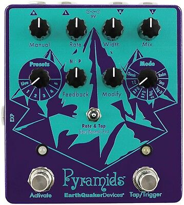 Earthquaker Devices, Pyramids Stereo Flansch Pedal, Neu