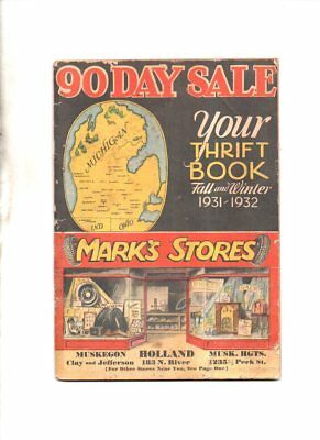 MARK's stores catalog fall & winte 1931-1932 auto supplies-tires-sporting goods