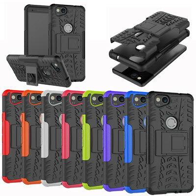 For Google Pixel 2 / 2XL Case Rugged Armor Shockproof Protective Kickstand Cover