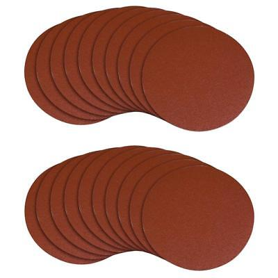 100mm 125mm 150mm Sanding Disc Hook And Loop Abrasive Sand Paper Pads 60-100