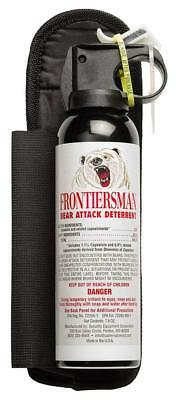 Frontiersman FBAD-04 Bear Spray and Attack Deterrent with Belt Holster, 7.9 oz