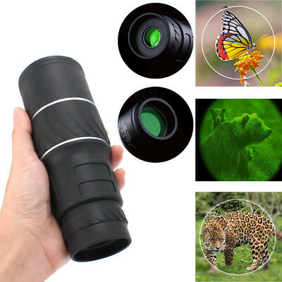 Portable 40x60 HD Zoom Optical Monocular Scope Hunting Camping Hiking Telescope