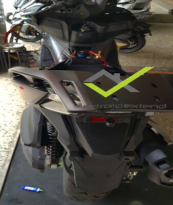 KYMCO XCITING S 400i REAR TOP BOX CARRIER