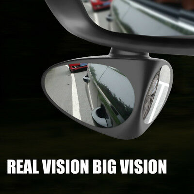 1PCS Car Blind Spot Mirror Wide Angle 360 Rotation Adjustable Convex Rear View