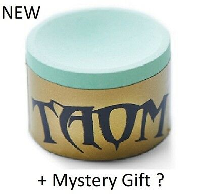 """Taom """"Soft"""" Gold Cue Chalk + Free Mystery Gift"""