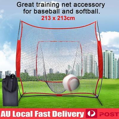7' x 7' Softball Baseball Training Net Pitching Batting Throwing Practice Tool