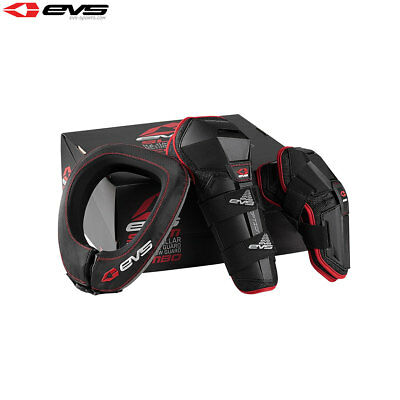 New Youth EVS Slam 2 Protector Combo Option Knee Elbow Guard R2 Neck Brace