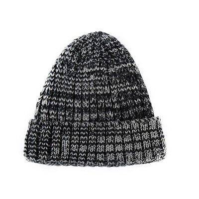 Women Men Knitted Winter Oversized Slouch Beanie Hat Cap Skateboard 8C