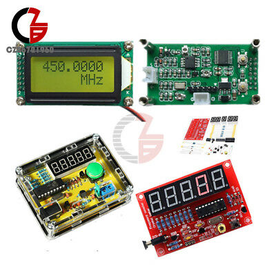 1Hz-50MHz 1MHz-1.1GHz Frequency Counter Crystal Oscillator Tester DIY Kits Meter