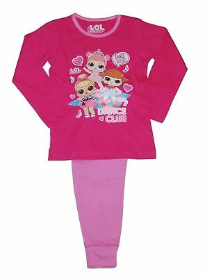 Girls LOL Surprise Pjs Set Dance Club Nightwear Pyjamas Pajamas
