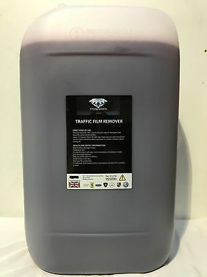 NON CAUSTIC TFR - TRAFFIC FILM REMOVER 25L with liquid WAX * TOP SELLER *