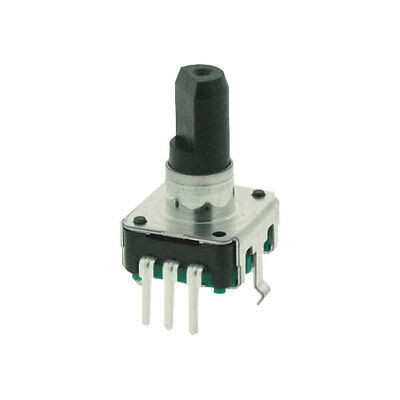 ALPS STEC12E08 Encoder With 6mm D-plastic Shaft Vertical with Switch
