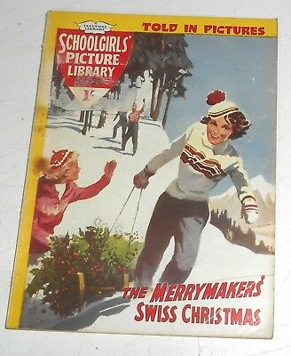 #106 Schoolgirl's Picture Library Comics ~ THE MERRYMAKERS SWISS CHRISTMAS 1960
