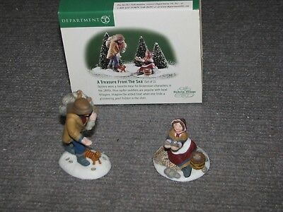"""Vintage Dept 56 Dickens Village """"A Treasure From The Sea"""" #56.58461 Christmas"""