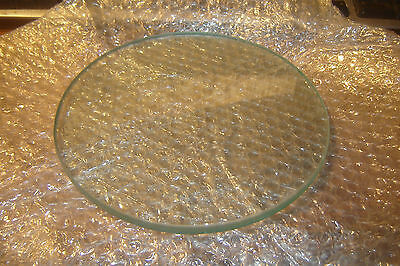 """8.25"""" OD x 3/8"""" Thick Glass for Union Dry-Cleaning Machines D209 - 412730"""